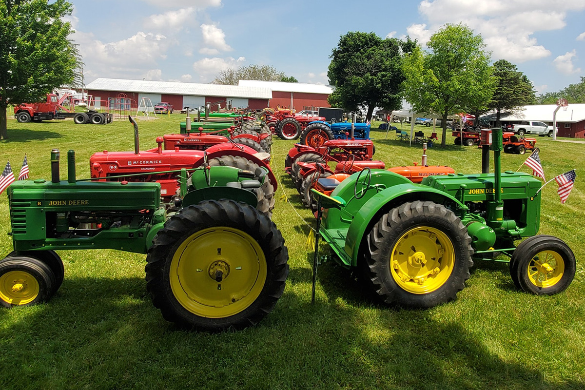 pfrv events antique tractor engine show