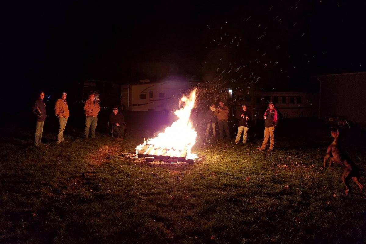 pfrv events blacksmith bonfire
