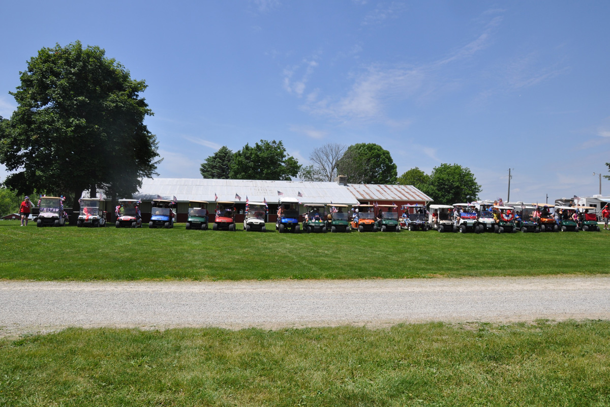 pfrv events golf cart rally