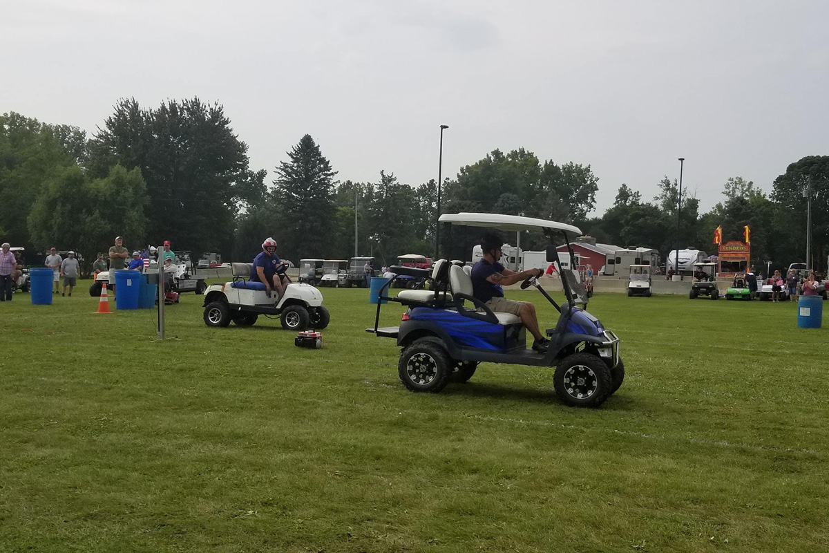 pfrv events golf cart show